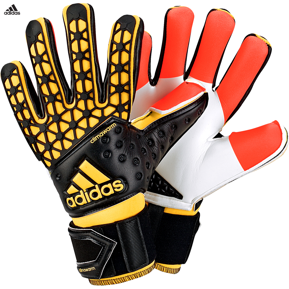adidas ace zones pro climawarm goalkeeper gloves size ebay. Black Bedroom Furniture Sets. Home Design Ideas