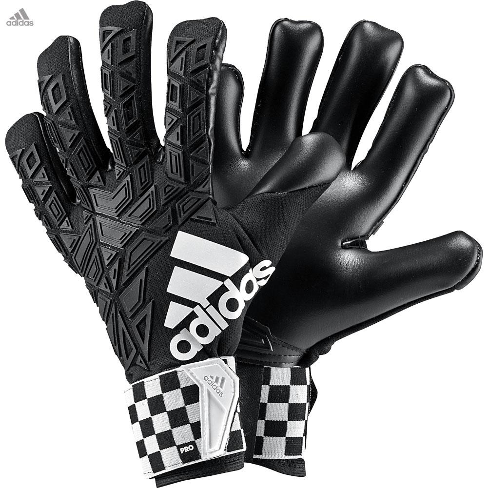 Black goalkeeper gloves - Adidas Ace Trans Pro Cf Chequered Black Goalkeeper Gloves Size 7 5